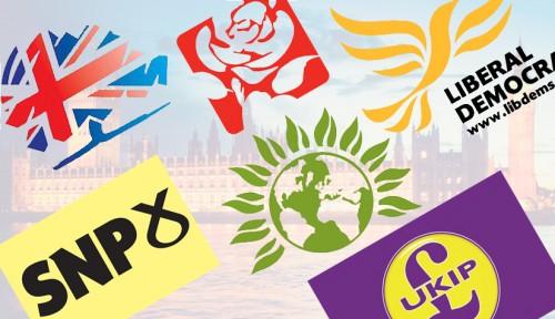 main UK political party logos