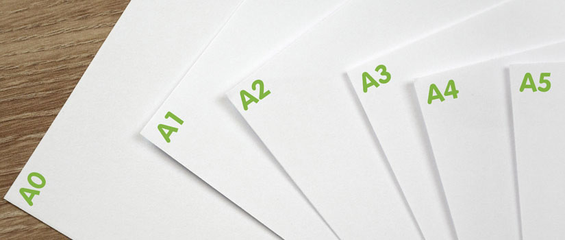 A paper sizes