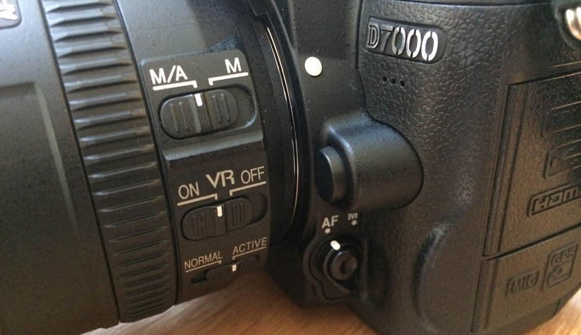 manual and auto focus