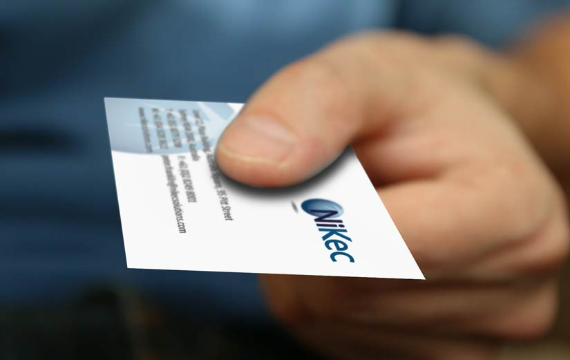 Whats the etiquette when giving a business card print and business card in hand reheart Choice Image
